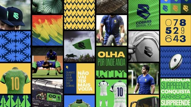 El diseño visual de Cobras Brasil XV fue reconocido mundialmente